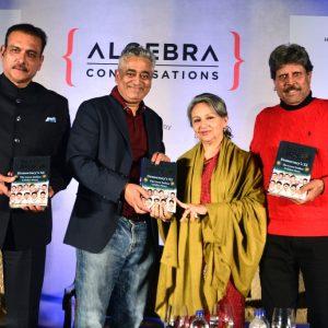 Ravi Shastri, Rajdeep Sardesai, Sharmila Tagore & Kapil Dev