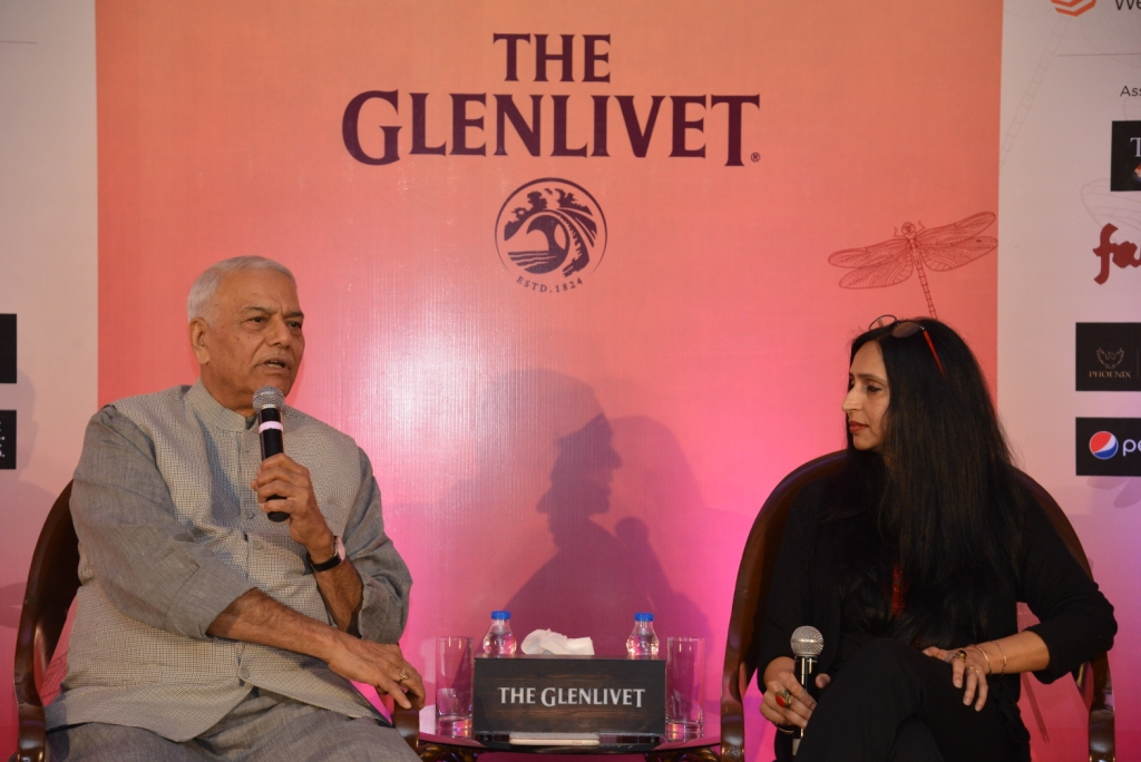 Yashwant Sinha been a formidable force in his party for decades. This conversation shows why