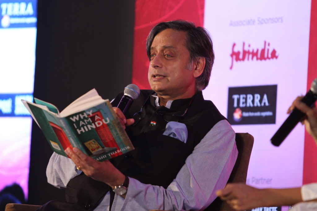 What do you get when Shashi Tharoor takes on Hinduism? Provocation, persuasion and a fascinating conversation
